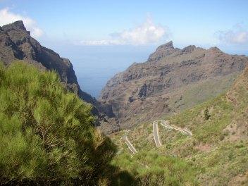Die Masca Schlucht im Teno Gebirge