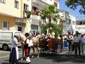 Dorffest (Romeria) hier in San Miguel