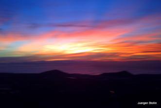 Sonnenaufgang über Teneriffa