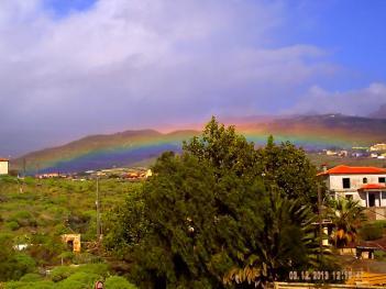Regenbogen über Granadilla