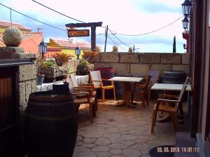 """Mein Lieblingsplatz in (vor) der """"Tasca-El Horno"""" in CRUZ de TEA/Granadilla-de Abona."""
