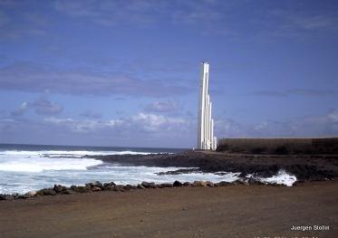 Leuchtturm in Punta del Hidalgo