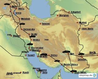 Die Irrfahrt durch Persien