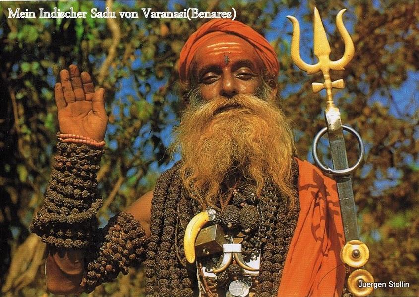 Mein Freund der Sadu, Heiliger Mann 001
