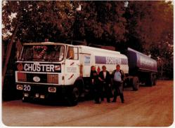 Zugmaschine mit Dolly Achsen Auflieger...