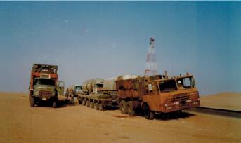 Kollegen-Treff in der Wüste