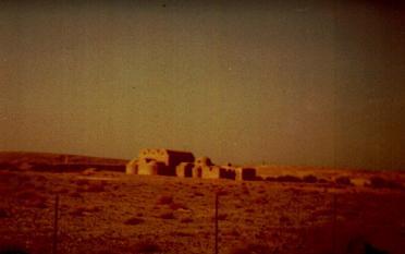 Eine Karawanserei im Irak
