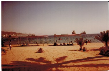 Strand vom Akaba Hotel