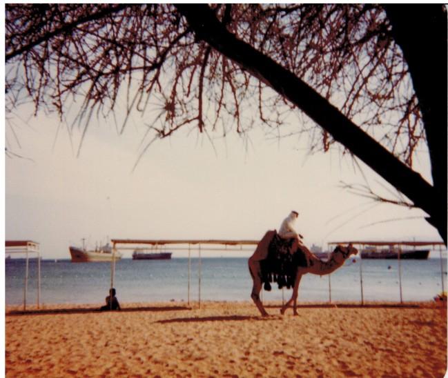 Am Strand vom Akabahotel