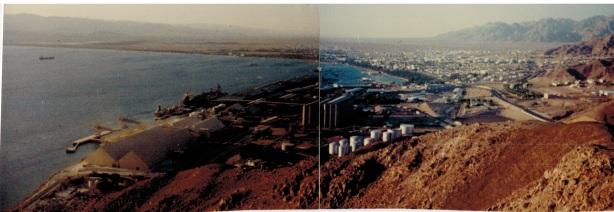 Panoramafoto von Akaba
