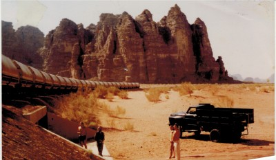 Wadi Rum, Akaba Jordanien