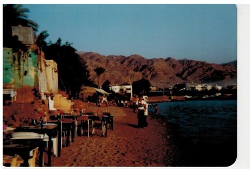 Strand von Akaba Stadt...
